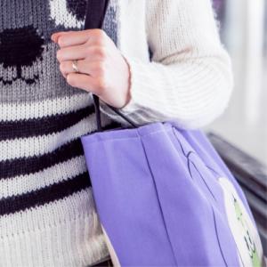 紫のかばん